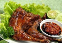 Resep Makanan Enak Paling Populer Ayam Bakar Kecap Pedas