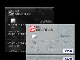 kartu kredit Bank Sinarmas