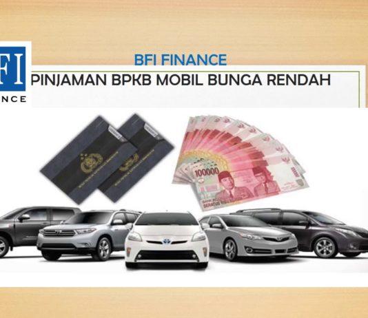 Pinjaman Jaminan BPKB Mobil Bunga Rendah