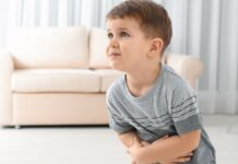 cara mengatasi sakit perut pada anak